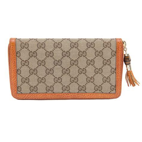 Tassel Zip Wallet gucci orange bamboo tassel zip around wallet