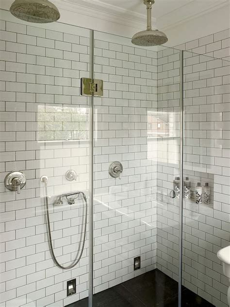 seamless bathtub surrounds 17 best images about white subway tile gray grout glass