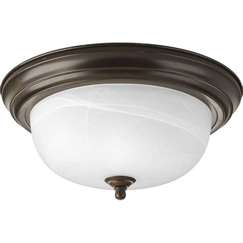 progress lighting p5204 38 progress lighting 2 light antique bronze flushmount p3925
