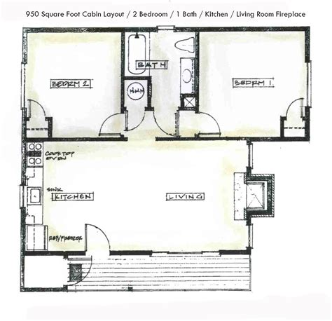 2 Bedroom Cabin Floor Plans by Two Bedroom Cabins Double Eagle Resort And Spadouble