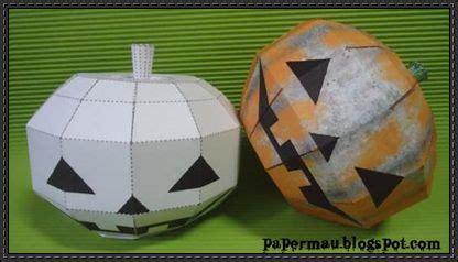 Papercraft Pumpkin - blank papercraftsquare free papercraft page 3