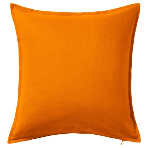 kissen nähen 50x50 gurli cushion cover orange 50x50 cm ikea