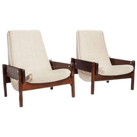 brazilian furniture brazilian modern rosewood vronka lounge chairs by sergio