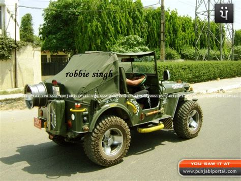 jeep punjab willy jeep indian modifeid 4x4 landi