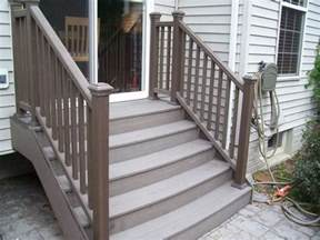 composite deck stairs cost railing stairs and kitchen