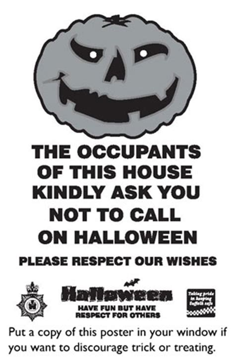 the neighbourhood a certain attitude mp haverhill uk news poster caign to keep halloween