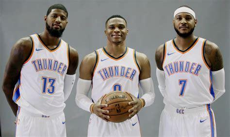 Mba Big 3 by Oklahoma City Thunder S Big Three Shooting For Their 1st