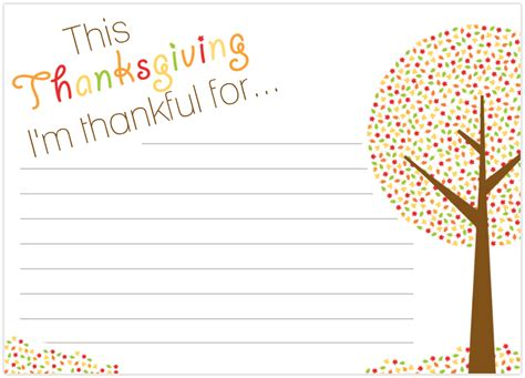 i am thankful for template pre k card ms class