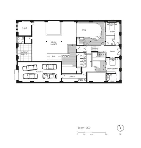 floor plan to scale gallery of inner city warehouse allen jack cottier 29