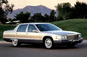 96 Cadillac Brougham 96 Cadillac Fleetwood Brougham Rear End