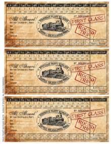 printable vintage train ticket birthday by emsquaredstudio