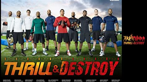 adidas player wallpaper adidas thrill and destroy football players nfl 1920x1080