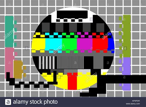 grid pattern on tv grid test pattern stock photos grid test pattern stock