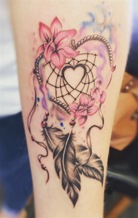 dreamcatcher tattoo meanings ink vivo