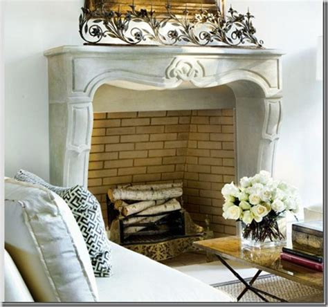 Fireplace Fillers | little inspirations fireplace fillers
