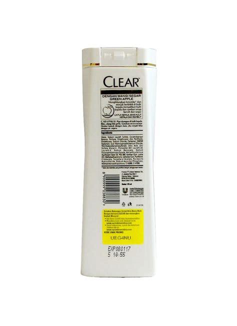 Fokus Clean Pembersih Piring Dan Peralatan Dapur clear shoo green apple fresh btl 170ml klikindomaret