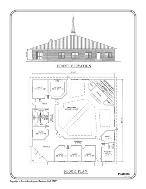 floor plans for churches church building plan церковь pinterest church