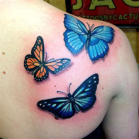 Butterfly Tattoo On Shoulder Blade Butterfly Tattoos On Shoulder Blade