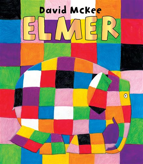 Elmer The Patchwork Elephant - books