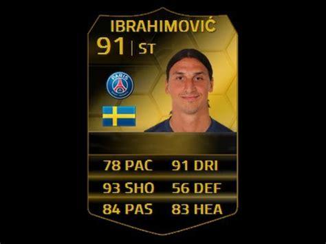 ibrahimovic tattoo fifa 14 fifa 14 sif ibrahimovic 91 player review in game stats