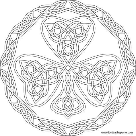free coloring pages mandalas celtic printable celtic mandala coloring pages coloring home