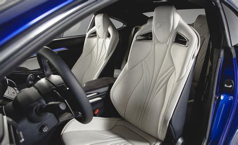 Lexus Rcf Interior by Car And Driver