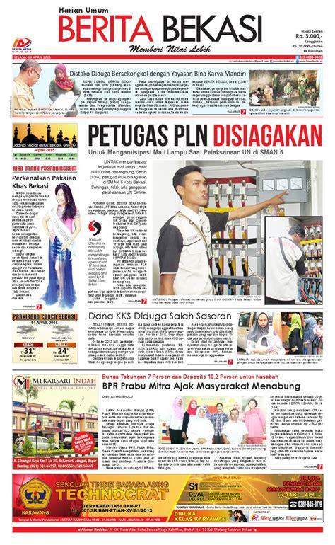 Teh Pucuk Harum Eceran petugas pln disiagakan by berita bekasi issuu