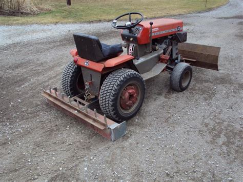 garden tractor attachments attachments for mf10 12 massey snapper amf tractor forum gttalk