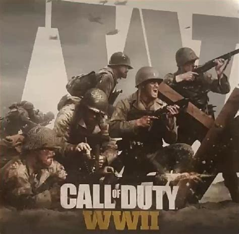 Cod Ww2 leaked call of duty ww2 promotional images show a