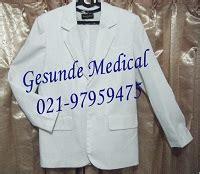 Baju Dokter Putih jas dokter pria wanita jual baju jas putih dokter toko medis jual alat kesehatan