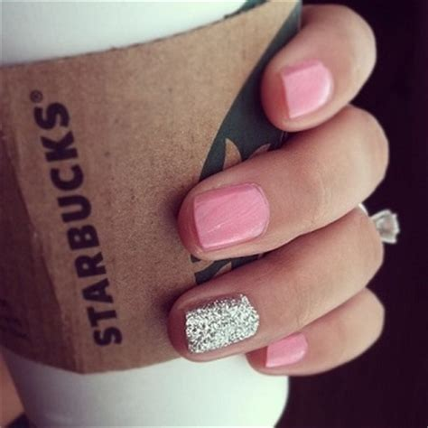 one finger nail different color pictures micro trend painting one nail different