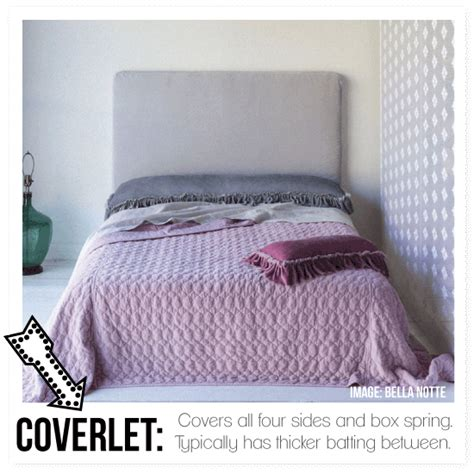 what is a coverlet faq what is a duvet cover decoding how to dress your bed