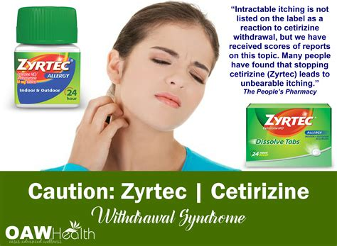 Zyrtec Detox caution zyrtec withdrawal side effect