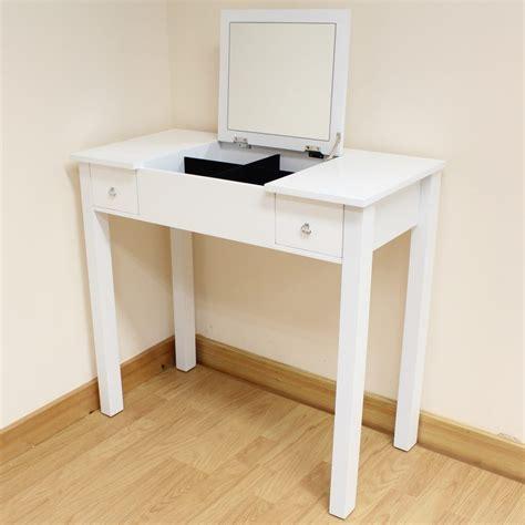 flip top vanity desk bedroom furniture simple white wooden vanity desk with