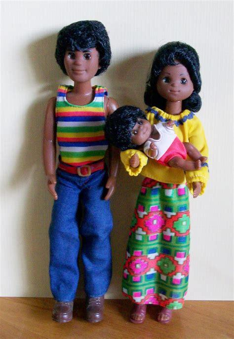 black doll family i the family