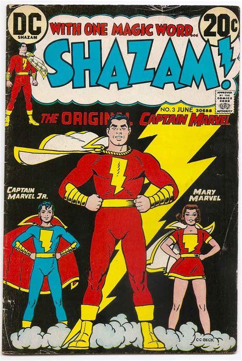 Captain Original shazam the original captain marvel 3 comic shop