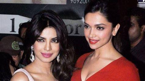 priyanka chopra and deepika chopra exclusive priyanka beats deepika to be bollywood face in