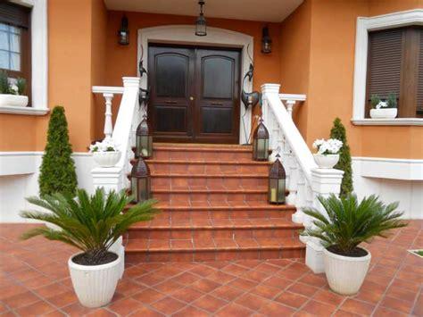 imagenes jardines entrada casa escaleras entrada casa villa tenorio 1 fotos de