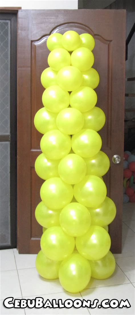 balloon decoration packages cebu balloons  party supplies