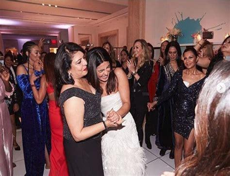 priyanka chopra dancing wedding priyanka chopra dances her heart out with mother madhu