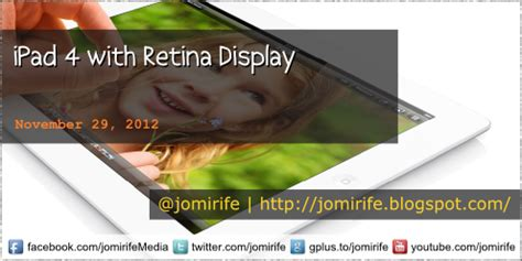 imagenes web retina display jomirife tech blog ipad 4 with retina display new