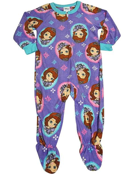 Footed Blanket Sleepers by Disney Princess Sofia The Motif