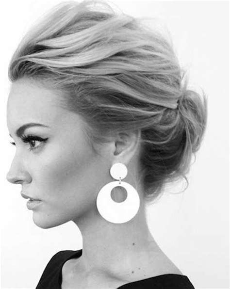 updos for shorter hair pintrest 25 best ideas about short hair updo on pinterest
