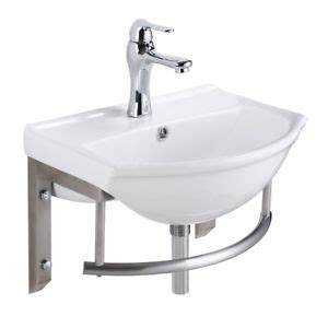 Small Wall Mount Sinks by Small Wall Mount Bathroom Sink With Stainless Steel Towel