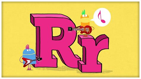 """ABC Song: The Letter R, """"Are You Ready For R"""" by StoryBots ... R"""