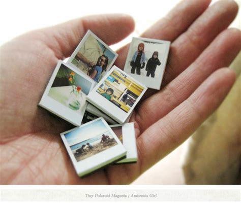 miniature polaroid diy mini polaroid magnets