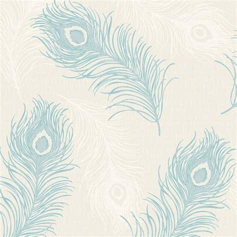 Flower Wall Murals Uk debona viola feather pattern glitter motif bird vinyl