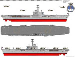 hms albion r 07 centaur class aircraft carrier royal navy