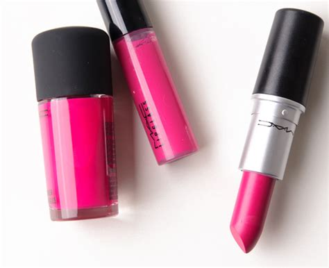 girl about town lipstick mac girl about town lipglass lipstick nail lacquer