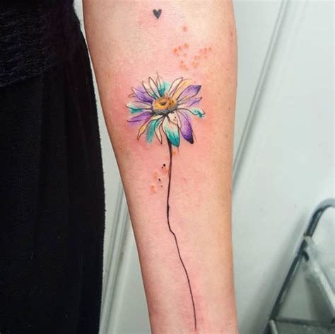 watercolor daisy tattoo tattoos designs for tattoos